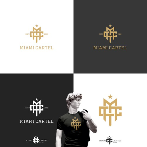 MC - Initials Logo Design