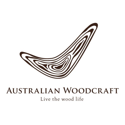"Australian Woodcraft, ""Live the wood life"" - NEW LOGO DESIGN"
