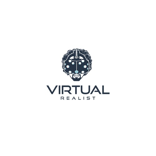 Logo concept for Virtual Realist
