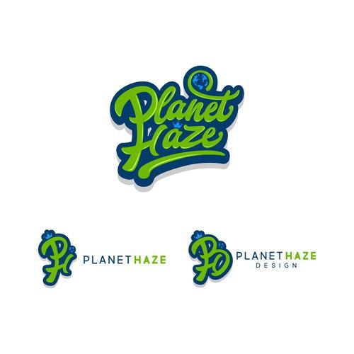 PlanetHaze Logo design