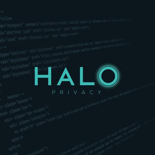 "Logo for ""Halo"", a secure communication company"