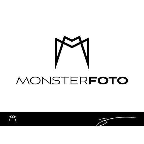 Photograher needs logo for Monsterfoto - modern and fresh