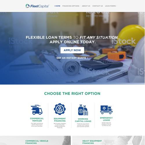 Fleet Capital Website Design