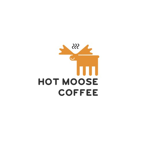 A logo for a coffee cafe