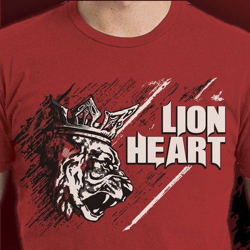 T shirt design for athletic wear!
