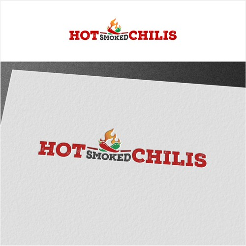 logo for Hot Smoke Chilis