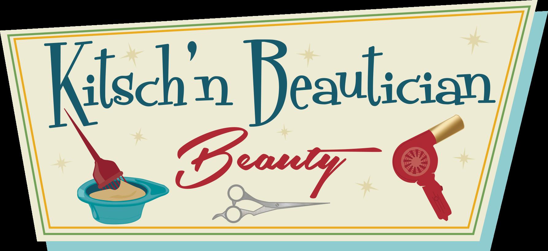 Eclectic, Retro, Eco, Boutique Beauty Parlor logo