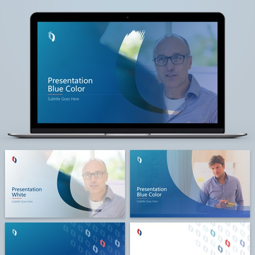 Presentation Template for a Management Consulting Organization