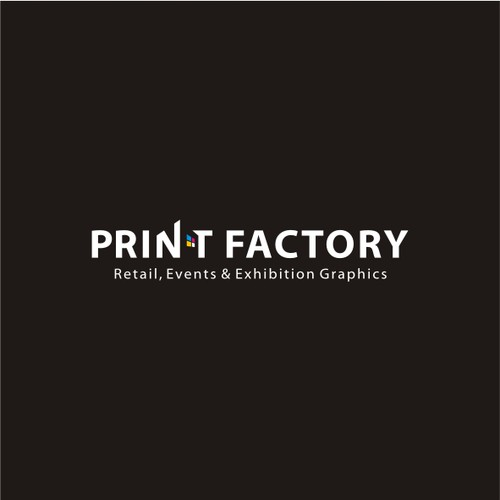 Print Factory needs a new refreshed logo