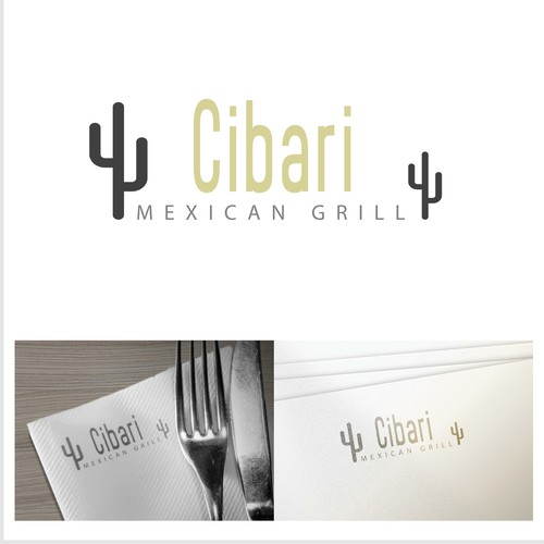 Logo concept for Mexican restaurant