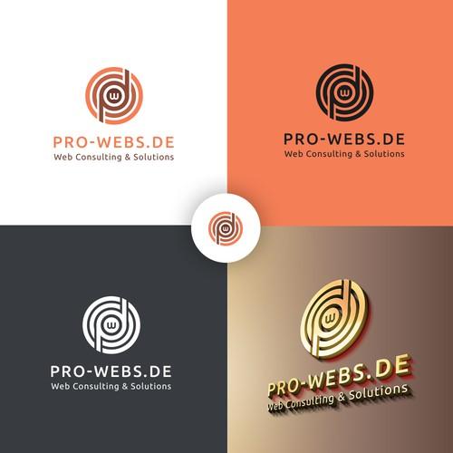Logo Concept for Pro-Webs.de