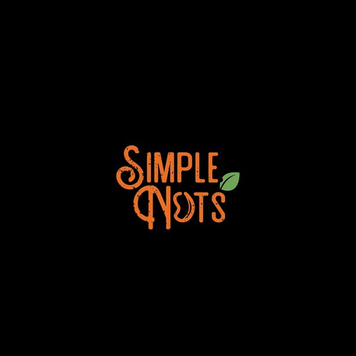Simple Nuts - A simple clever design logo