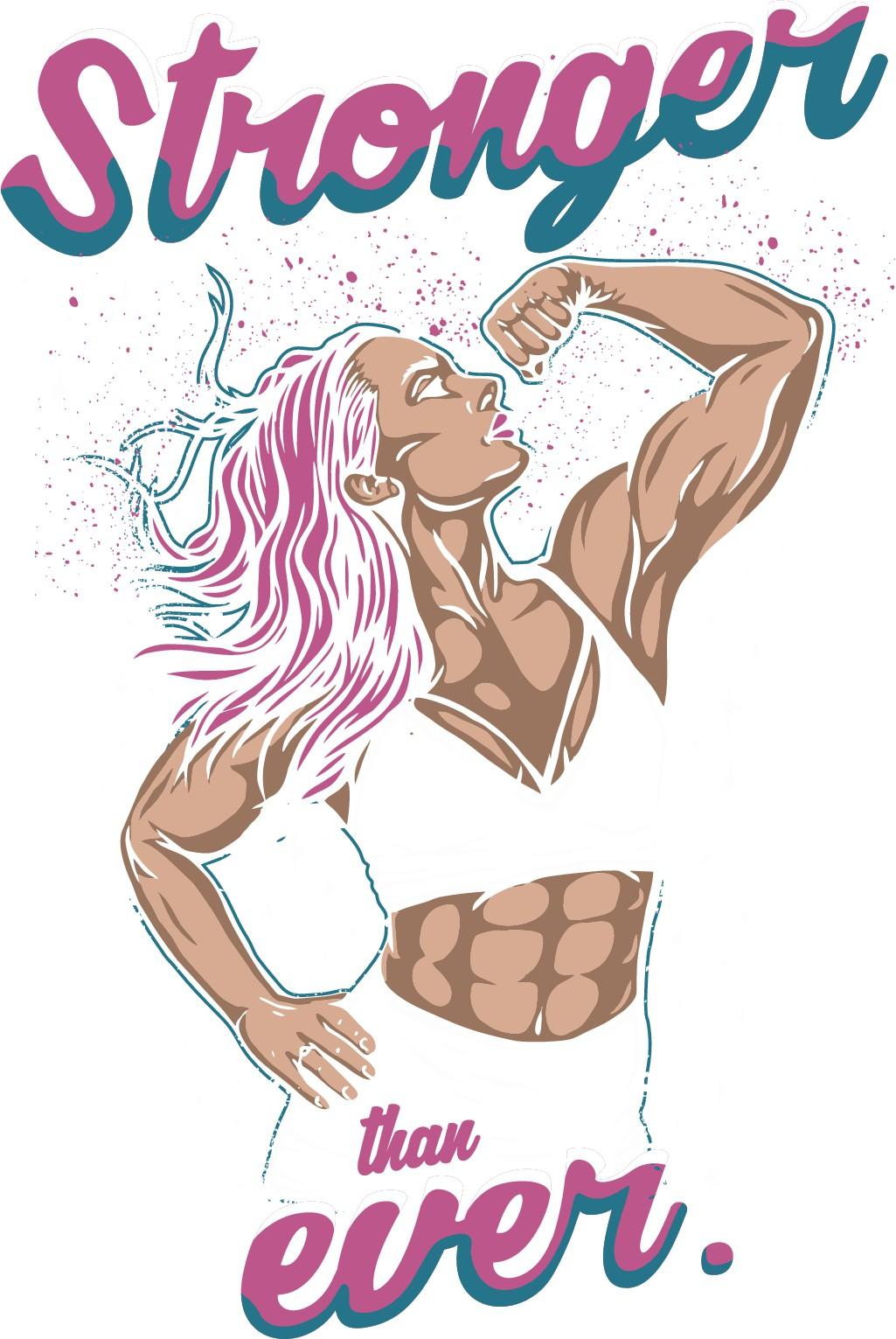 Retro Inspired T-Shirt - For Strong Women!