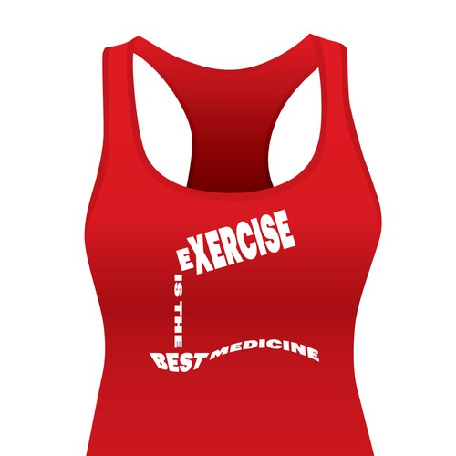 Fitness Shirt Design