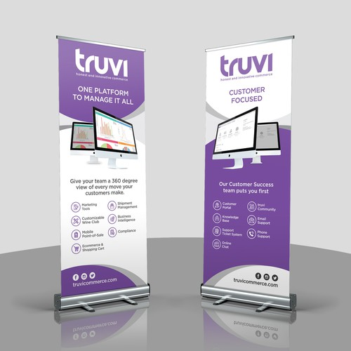 New Software-as-a-Service Company needs Trade Show banners