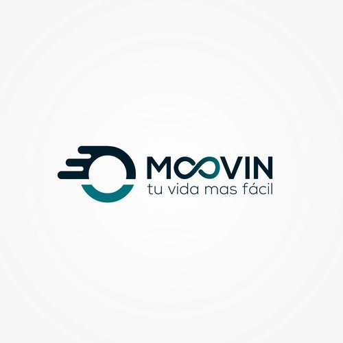 "Logo Moovin ""Tu vida mas fácil"""