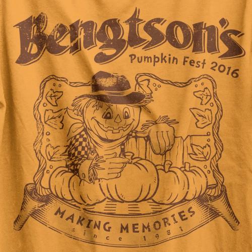 Pumpkin Fest t-shirt
