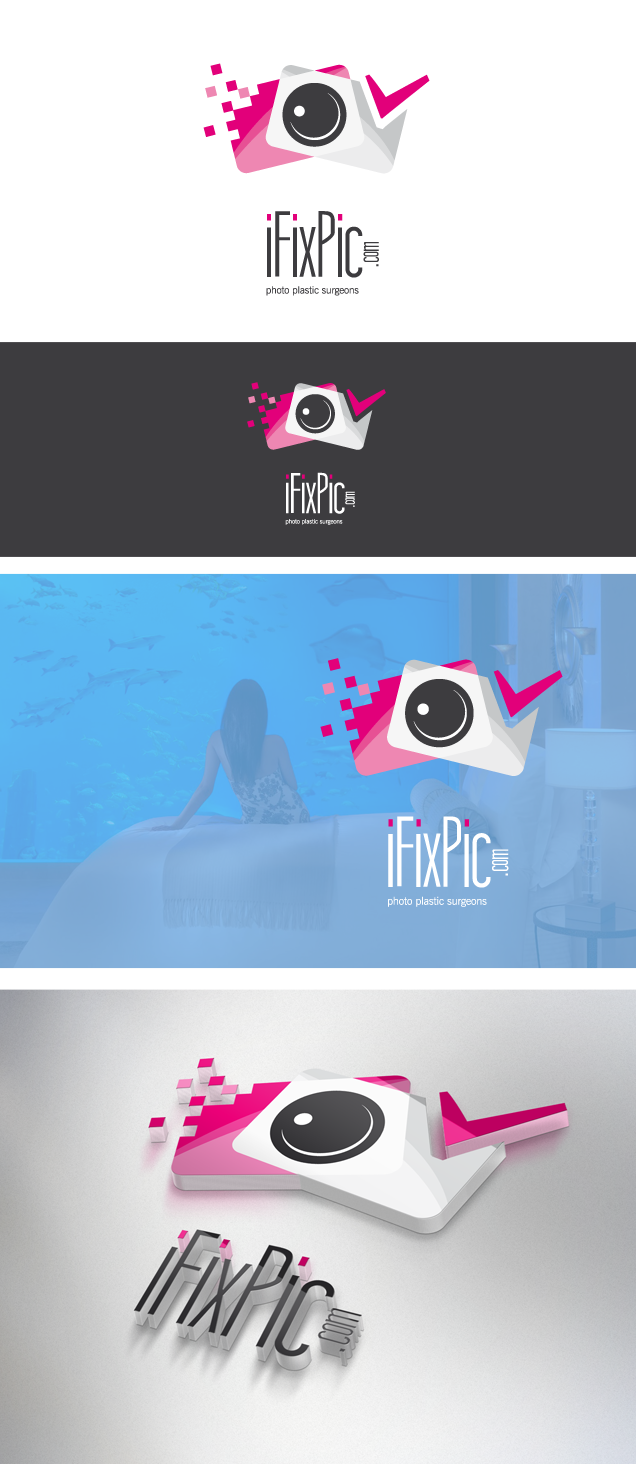 LOGO for iFixPic.com - We make photos sexy.