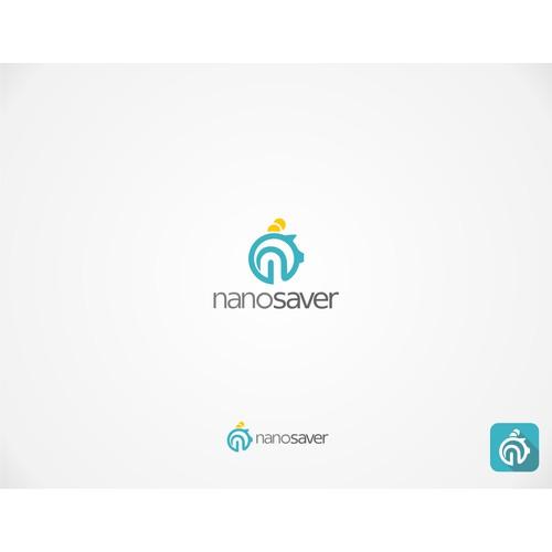 Design a crisp & clean logo for Nanosaver; an exciting new Financial App