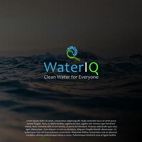 Creative Water Purification Logo
