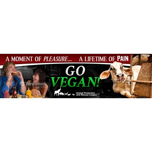 Go Vegan Billboard