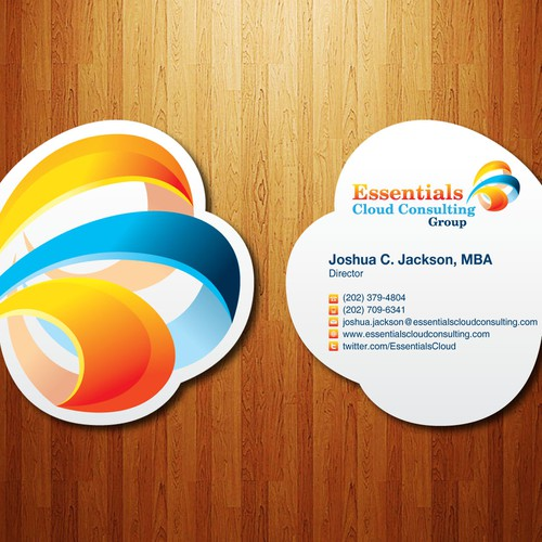 Business card design for Essentials CCG.