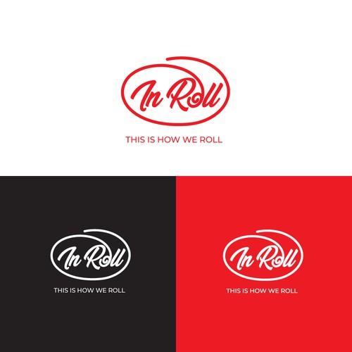new logo for InRoll  restaurant