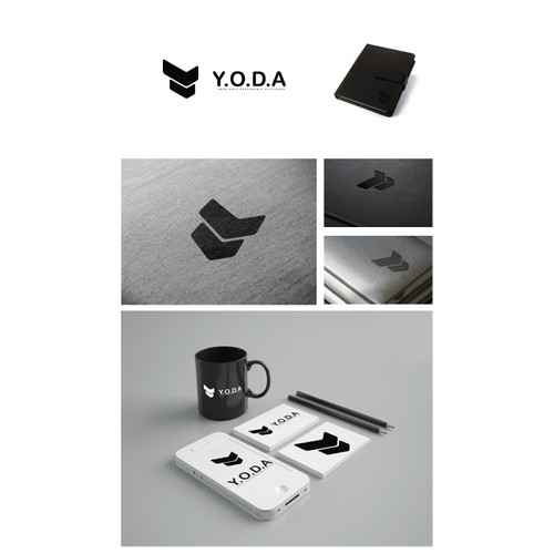 """LOGO 4 Y.O.D.A. - you only dependable accessory - """"protect your balls you must"""""""