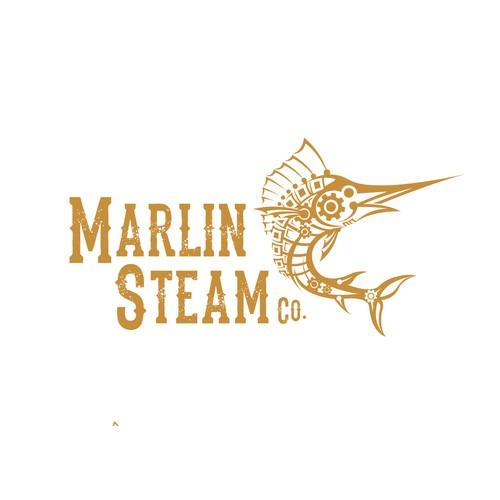 Vintage Steampunk Logo