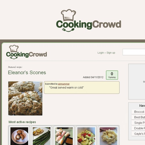 logo for CookingCrowd