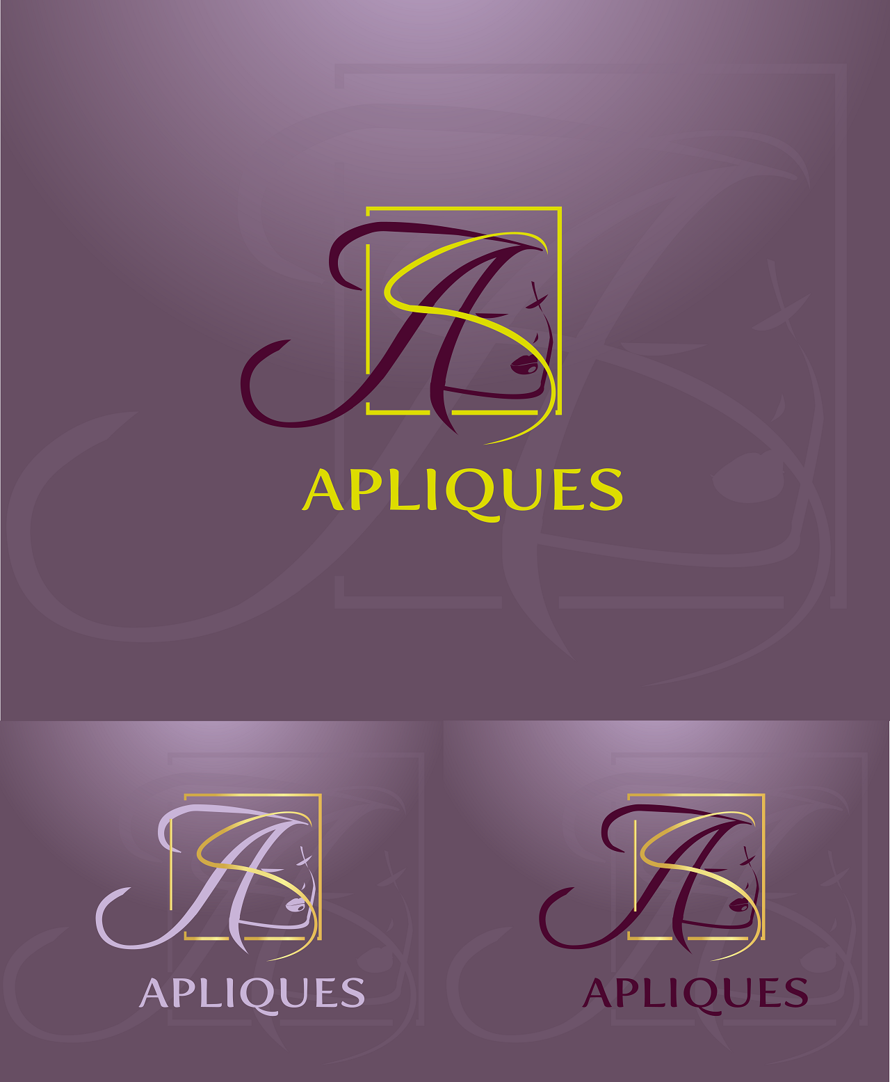 Help Apliques with a new logo