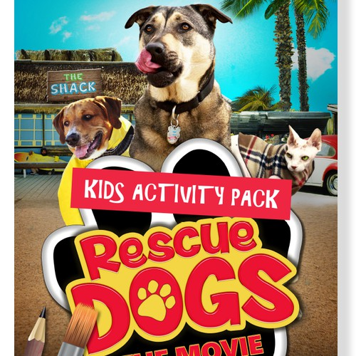 Rescue Dogs: The Movie - Kids Activity Pack