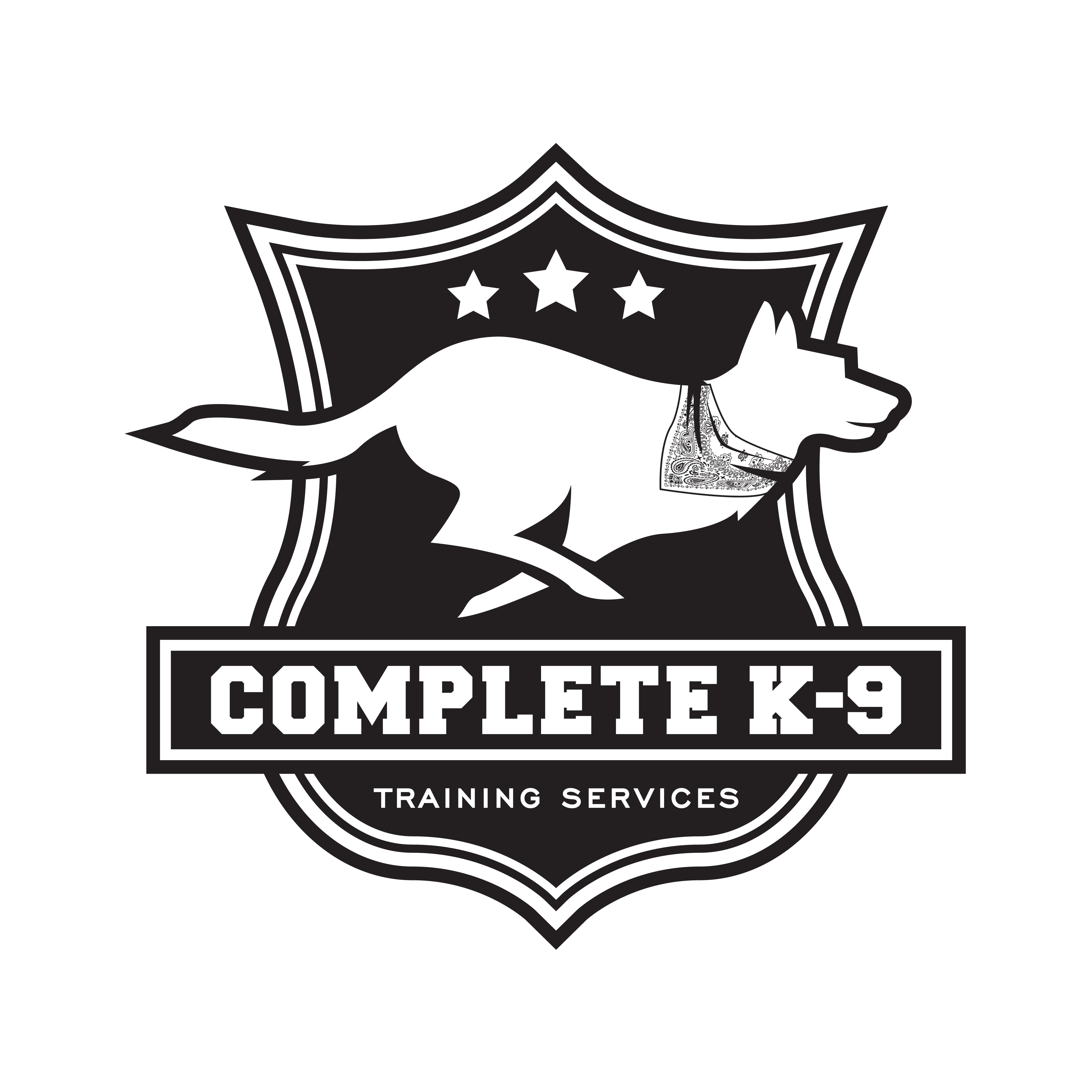 Complete K-9 Training Services needs a design to appeal to officers, and regular dog owners, alike.