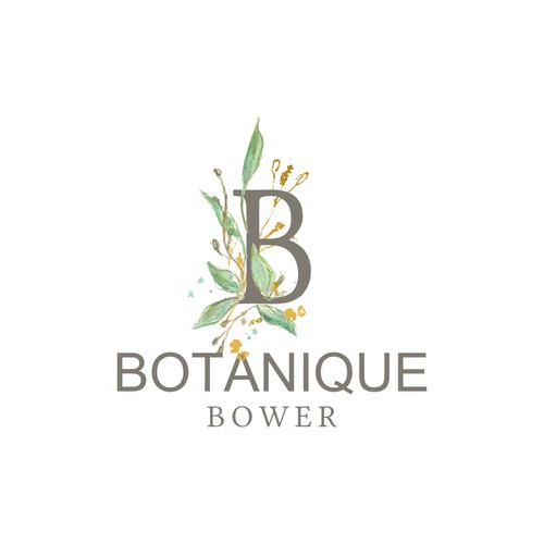 Logo for a florist/horticulture shop