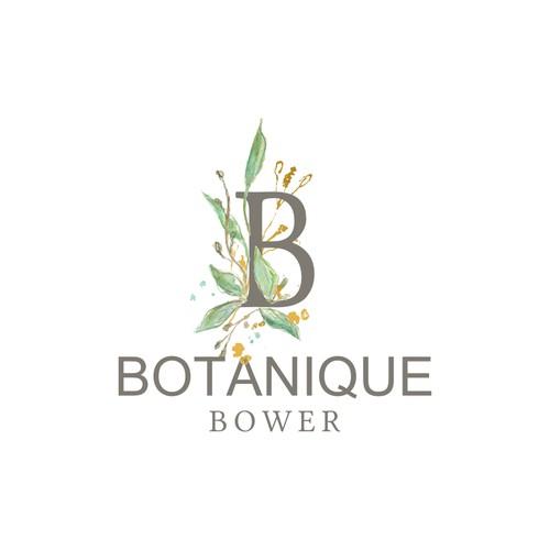 Logo for a florist/horticulture shop