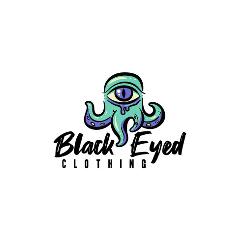 Clothing brand logo concept