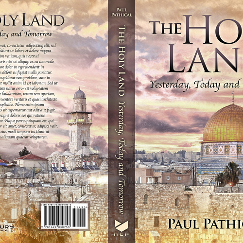 Book cover - The Holy Land