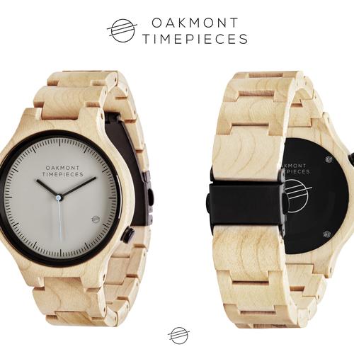 Simple Logo Concept for Oakmont Timepieces