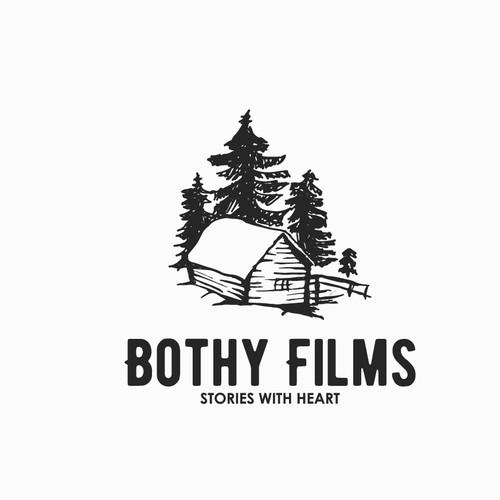 rustic logo for bothy films