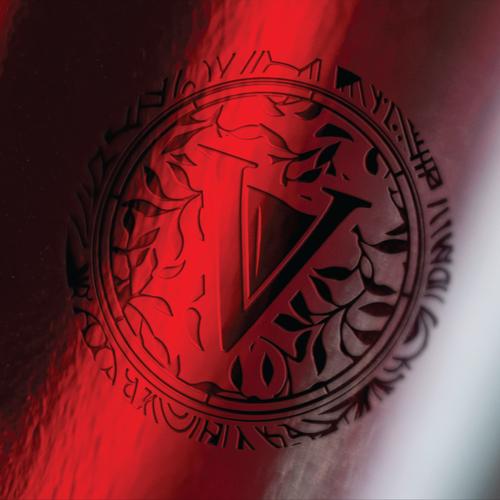 Retro wine logo