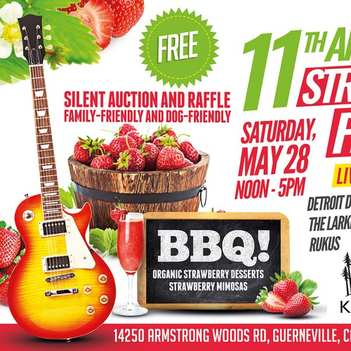 Poster for Strawberry Festival