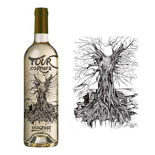 Wine Label Design for Global New Generation Brand