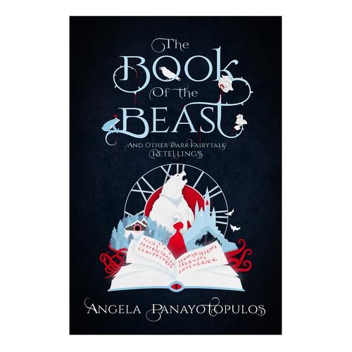 Dark Fairytales Vector Illustration Cover!