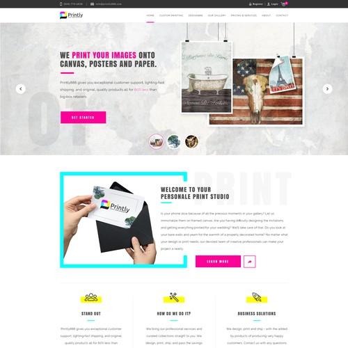 Online print studio