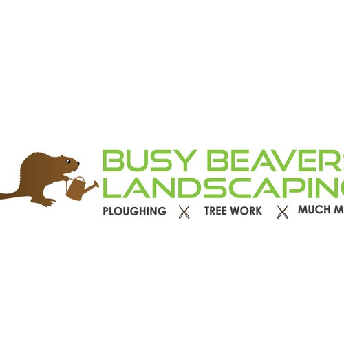 Logo concept for landscaping company