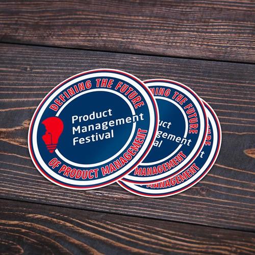 PMF Sticker design