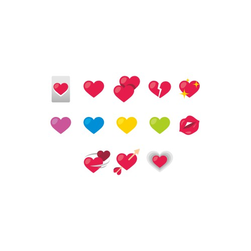 Emoji Love Icons