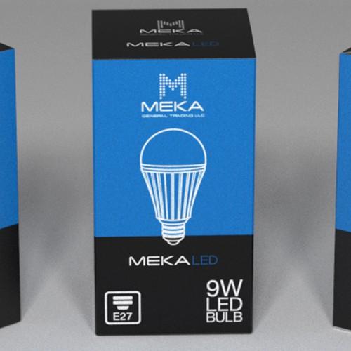 Packaging for LED light bulb