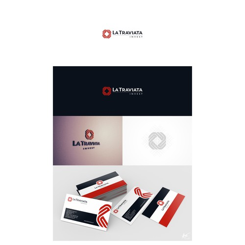 Sophisticated logo and business card Design needed - La Traviata Invest
