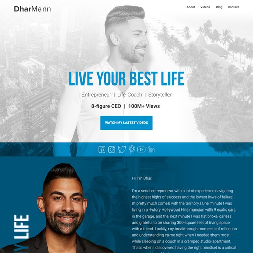 web design for dharmann